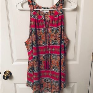 Rose and Olive Size XL Sleeveless Top Tank